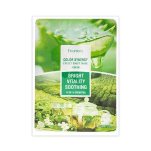 DEOPROCE Aloe & Green Tea Face Mask 20 g