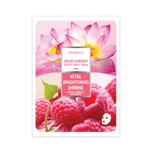 DEOPROCE Lotus Flower & Raspberry Mask 20 g