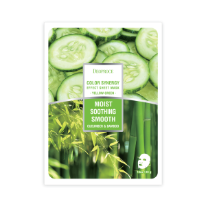 DEOPROCE Cucumber & Bamboo Face Mask 20 g
